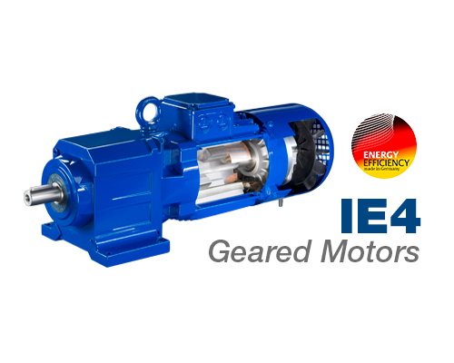 Bauer Gear Motor IE4 Energy Efficient Geared Motors
