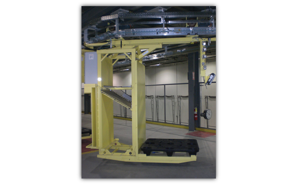 Cold Storage Monorail Systems