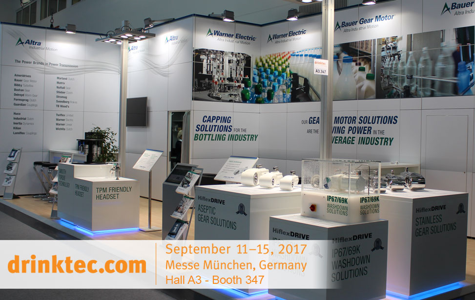DrinkTec 2017 Booth