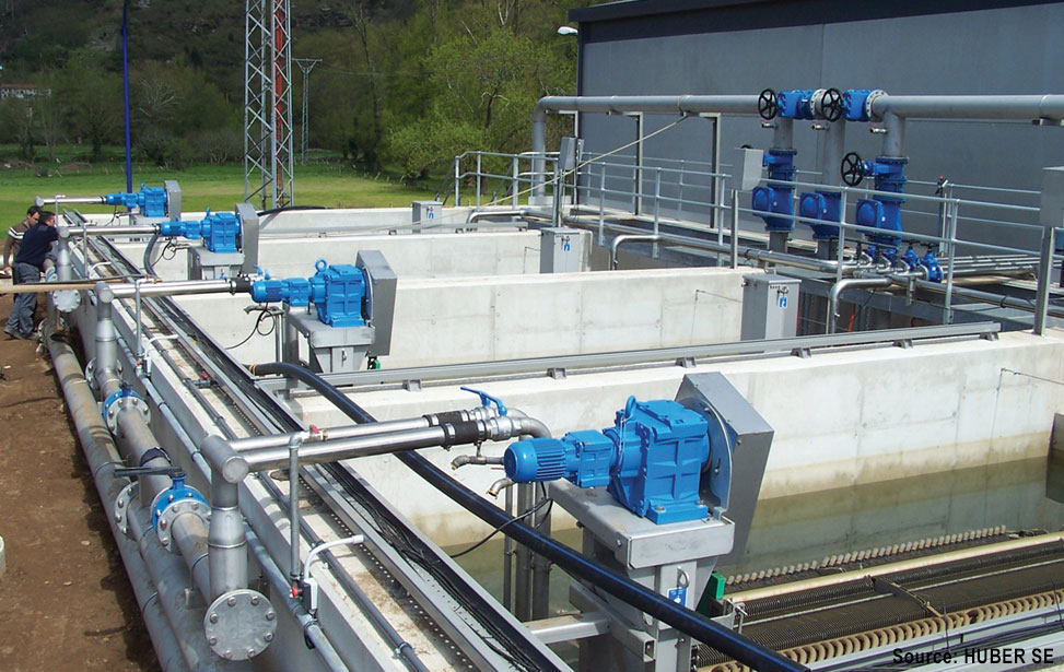 Wastewater Membrane Filtration System