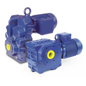 Bauer BF and BS Geared Motors