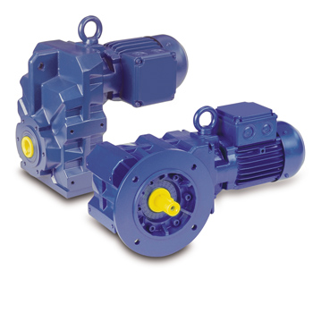 Bauer Gear BK & BF Series Geared Motors