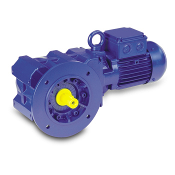 Bauer BK Series Geared Motor