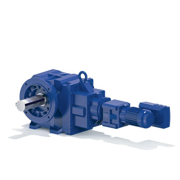 Custom Geared Motor Drive Assembly