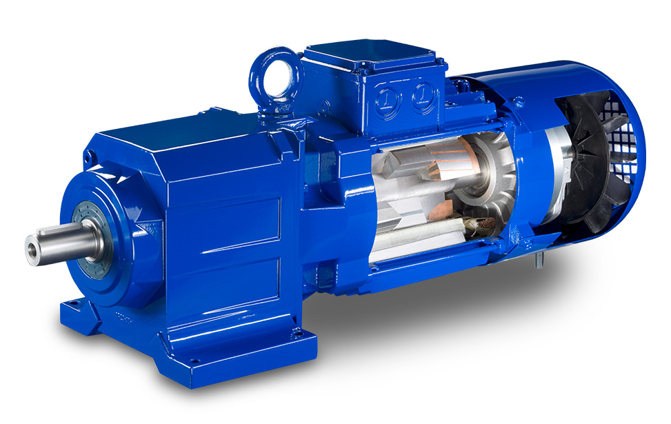 Bauer IE4 PM Synchronous Motors