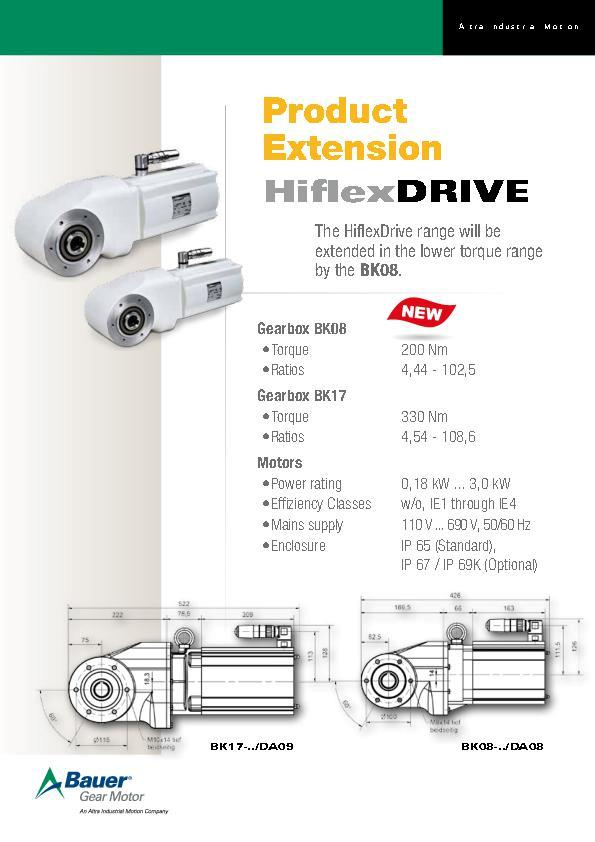 (A4) Product Extension HiflexDrive