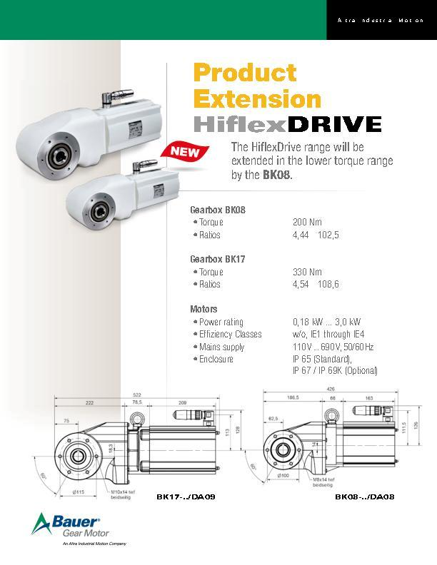 Product Extension HiflexDrive
