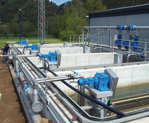 Waste Water Membrane Filtration Process