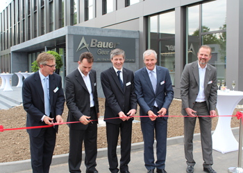 Bauer Facility Opening Ceremony